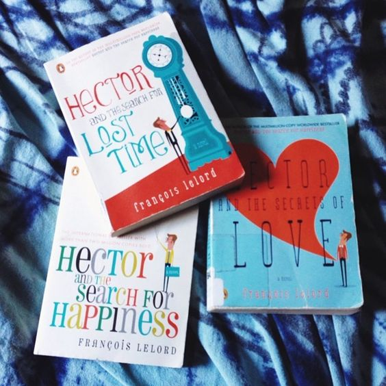 Day 3:  Travel reads - I'm close to done with #HectorAndTheSearchForHappiness which means that the next couple of trips I take will be with the secrets of love and lost time. #hplphotoaday #herpackinglist #HectorJourneys - B Gutierrez @mochusss