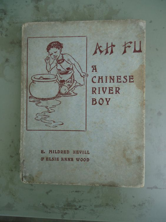 Ah Fu A Chinese River Boy Children's Book by Catsandclover on Etsy, $14.00