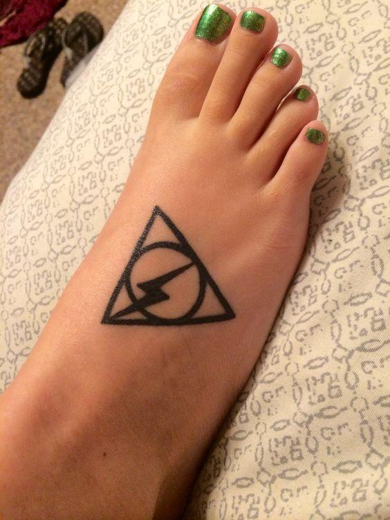 My Harry Potter tattoo