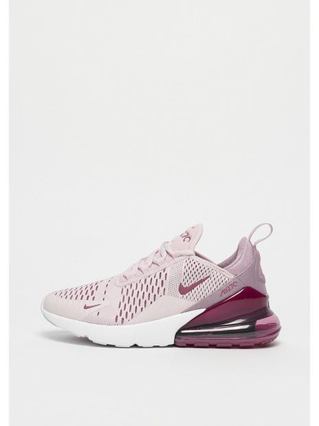 NIKE Air Max 270 barely rose/vintage wine-elemental rose ...