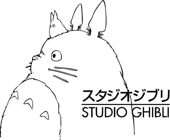 Totoro logo Studio Ghibli