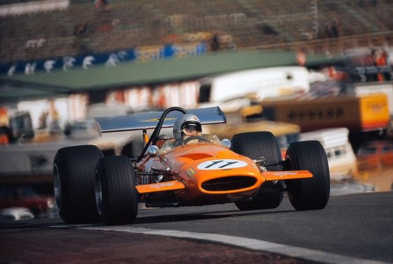 Bruce McLaren (Bruce McLaren Motor Racing), McLaren M14A - Ford V8,1970