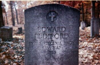 "Edward ""Grandsire Ned"" Pediford (Pedigo) Memorial Stone"
