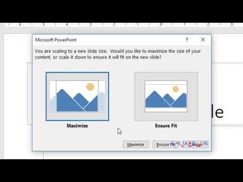 كيفية تغيير حجم الشريحة Slide Microsoft Powerpoint مايكروسوفت بوربوينت Youtube Powerpoint Microsoft Powerpoint Microsoft