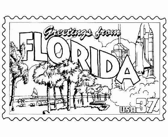 Florida Flag Coloring Page In 2020 Flag Coloring Pages Coloring
