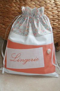 tuto 1 un pochon doubl tote bags pouches purses most. Black Bedroom Furniture Sets. Home Design Ideas