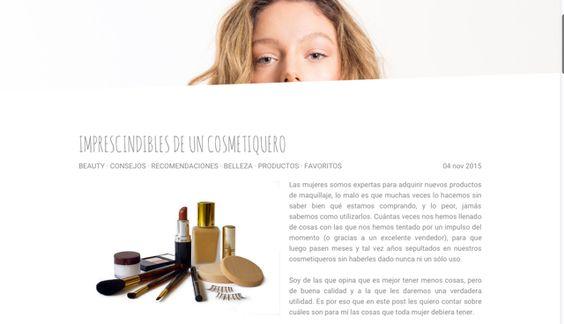 Imprescindibles en el cosmetiquero