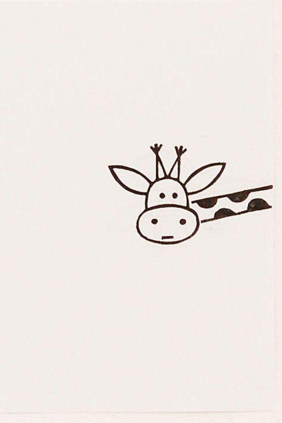 77 Draw A Curious Giraffe Giraffe Drawing Cute Giraffe Cartoon Drawings It can be a nice drawing idea to gift to the person you love. giraffe drawing