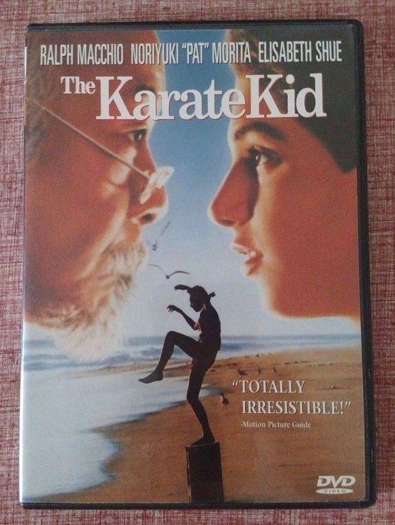 The Karate Kid (DVD, 1998) Ralph Macchio, Noriyuki Morita - Action/Adventure