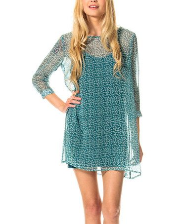 Another great find on #zulily! Northern Blue Last Child Dress - Women #zulilyfinds