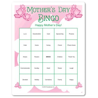 mothers bingo and mother 39 s day on pinterest. Black Bedroom Furniture Sets. Home Design Ideas
