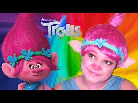 """POPPY"" TROLLS Movie Makeup Tutorial | Kindly Kiana - YouTube"