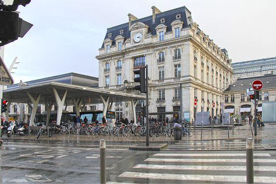 Вокзал Saint-Jean в Бордо