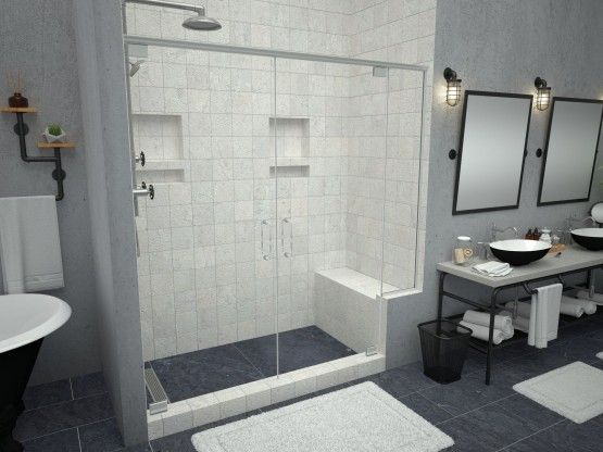 Redi Bench Shower Seats With Images Bathroom Renovation