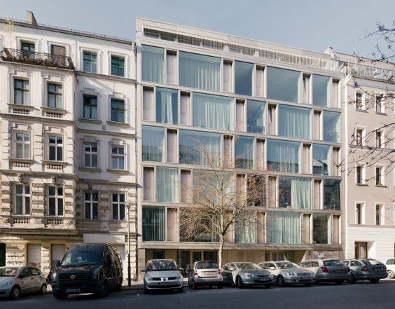 Zanderroth Architekten > cb19. Apartment buildings