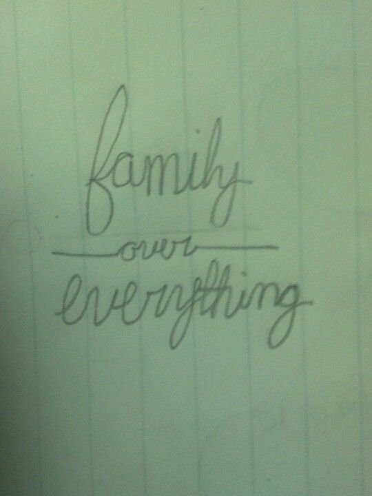 Family Over Everything 3 I Want A Tattoo Like This