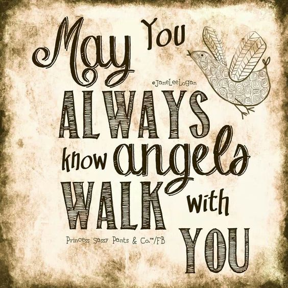 May you always know...: