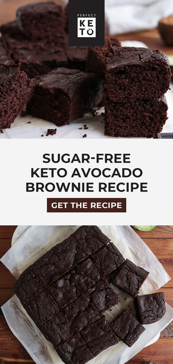 Keto Low-Carb Avocado Brownies
