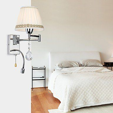 Generic-Wall Lamp 1 Light with LED Reding light Stainless And Crystal , 110-120V luci http://www.amazon.com/dp/B01CNBHV8C/ref=cm_sw_r_pi_dp_QHA7wb0167Q0K