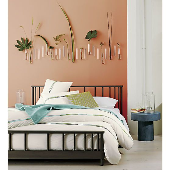 beaker glass tube 8 wall vase cb2 seriously love this above the bed bedroom furniture cb2 peg