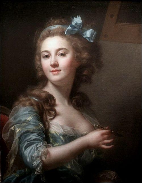 Marie Gabrielle Capet - self-portrait: