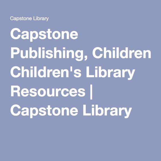 Capstone Publishing, Children's Library Resources | Capstone ...