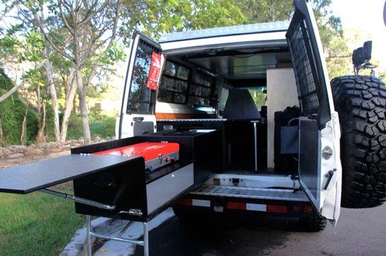 Ute Tray Camping Setup Kitchen Drawer Google Search