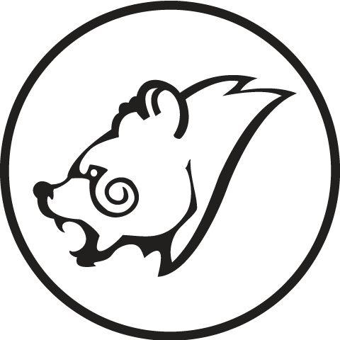 celtic bear head design design pinterest skyrim