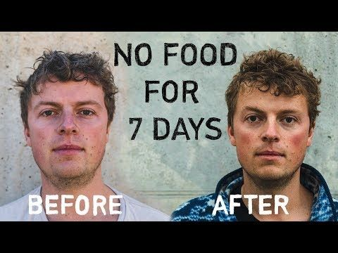 In This Post I Explain Lou S Entire 7 Day Water Fast Experience