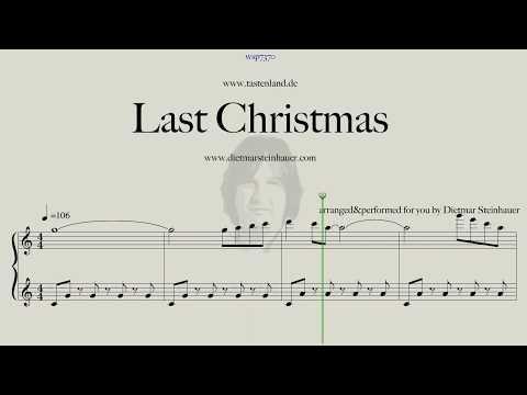 Last Christmas Easy Piano Youtube