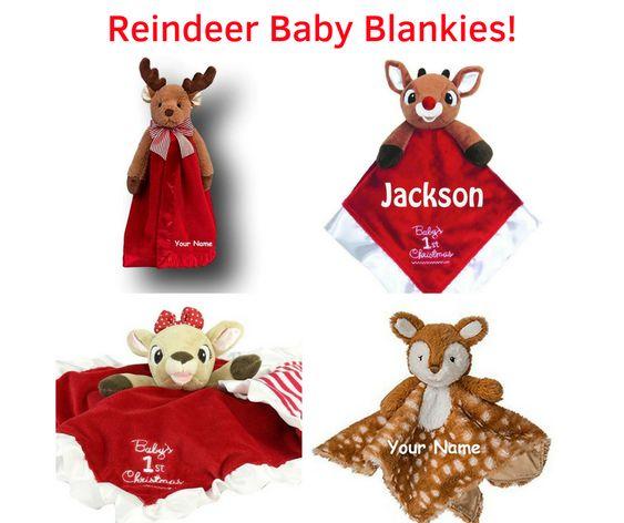 Reindeer Baby Blankies