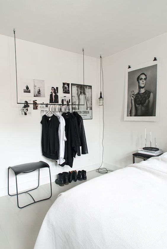 Minimalism inspo - 45 Minimalistic Bedrooms You Can Use As Inspiration - UltraLinx