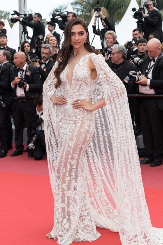 Deepika Padukone Cannes Film Festival 2018 Lace White Dress Dresses Indian Women