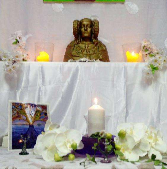 Altar de Imbolc 2018