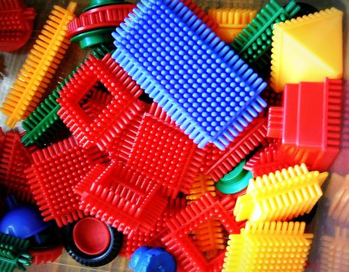 Stickle Bricks. For those of us who couldn't afford the big box of Lego: Childhood Memories, Childhood Nostalgia, Childhood 70S 80S, Stickle Bricks, Vintage Toys, Sticklebrick, Childhood Toys