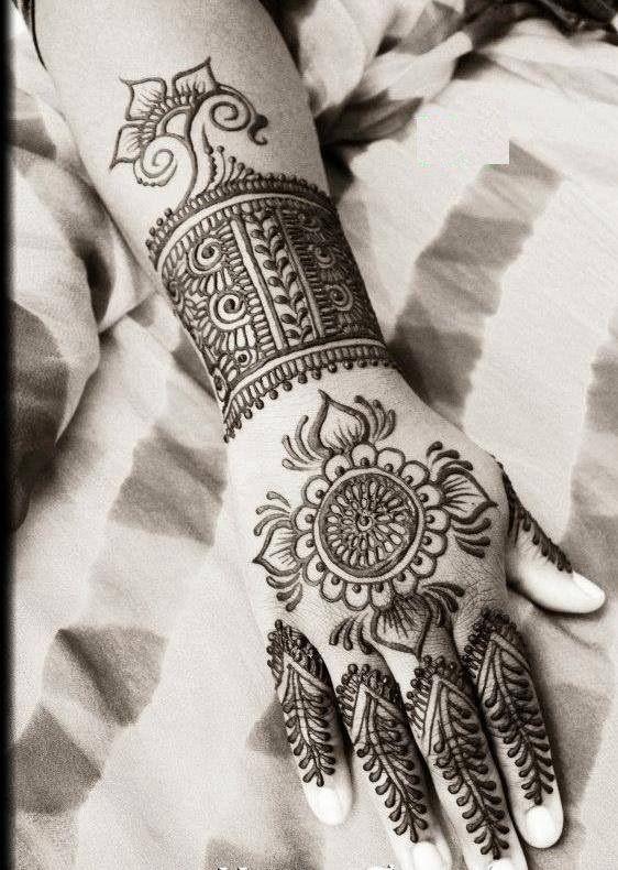 Henna Mehndi Ilford Lane : Henna art by husnaa kajee makedes