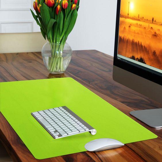 Schreibtischunterlage | 65x50 cm | einzeln | viele Farben | geruchslos | Dayton.de