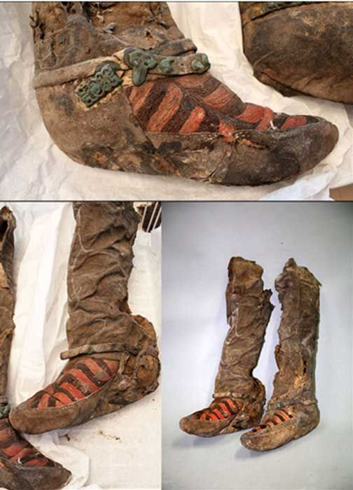 Ancient Mummy 'With 1,100 year old Adidas boots' Died After