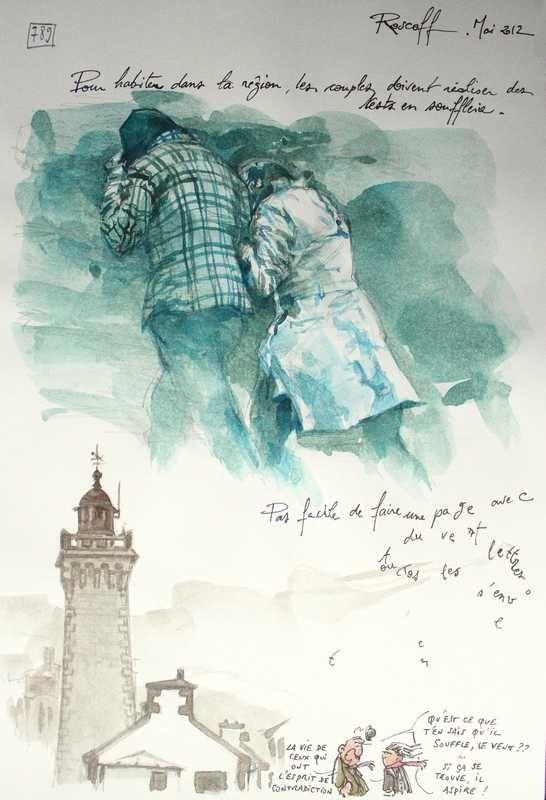 16 octobre 2013 -  Une Bretagne par les Contours / Roscoff