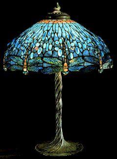 lamp - Tiffany dragonfly lamp.