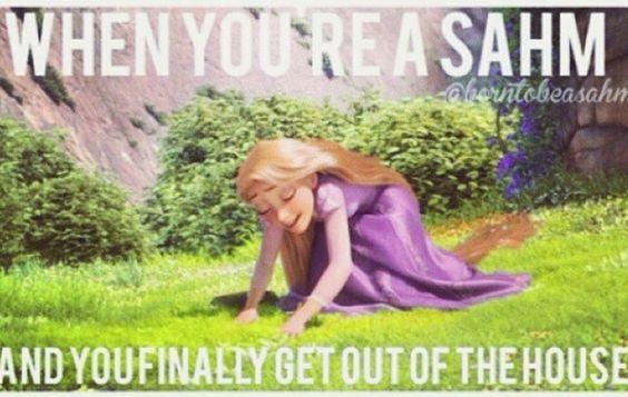 SAHM Rapunzel