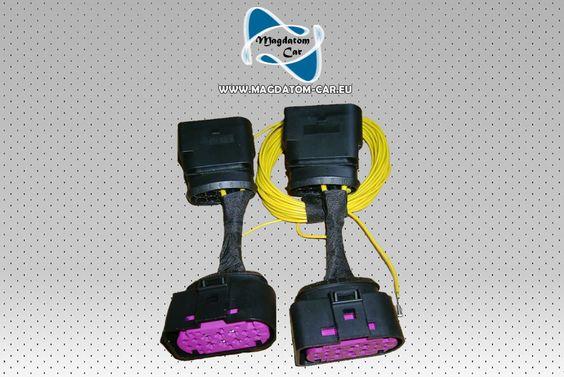 Nowe Xenon Bi-xenon Adapter Kabel Kable Przejściówki Do Audi A4 S4 B8 8K 2008-2010