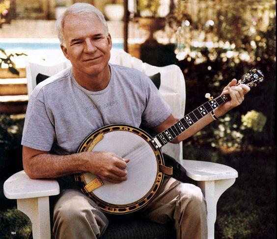Banjos. Steve Martin with banjo especially. :)