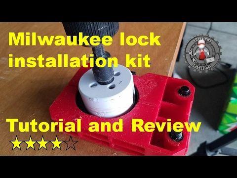 Milwaukee Door Lock Installation Kit Review And Tutorial 49 22