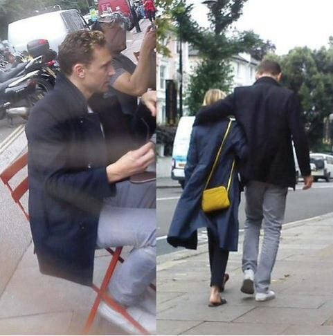 Tom & Elizabeth in Oxford - cute!