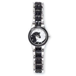 Ying Yang horse watch
