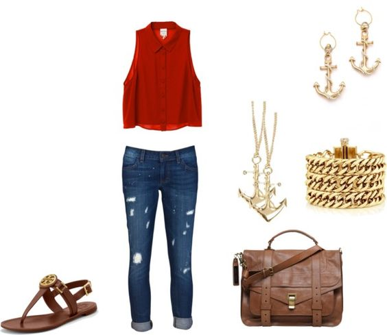 """""""A summer Day"""" by als5774 on Polyvore"""