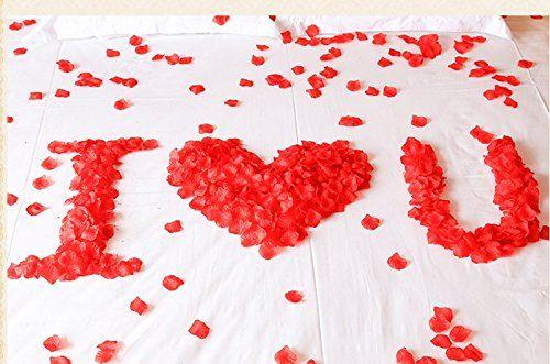 Rosenblatter In Rot Fur Diy Deko Ideen Zu Deiner Hochzeit