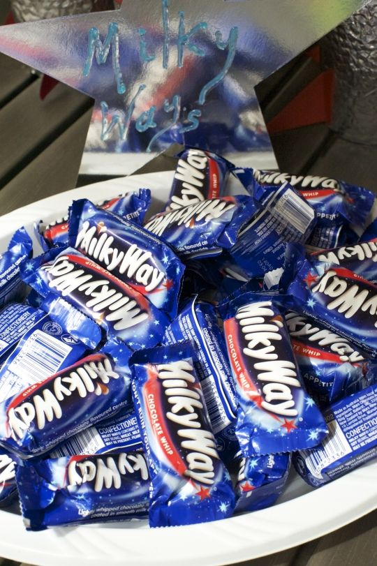milky ways=space party
