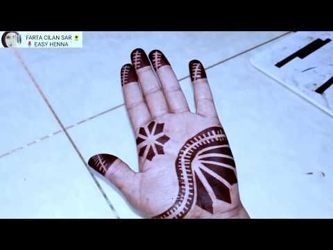 Cilaan Ki Cida Easy And Beautiful Henna Sudanese Youtube Henna Designs Henna Mehndi Design Images